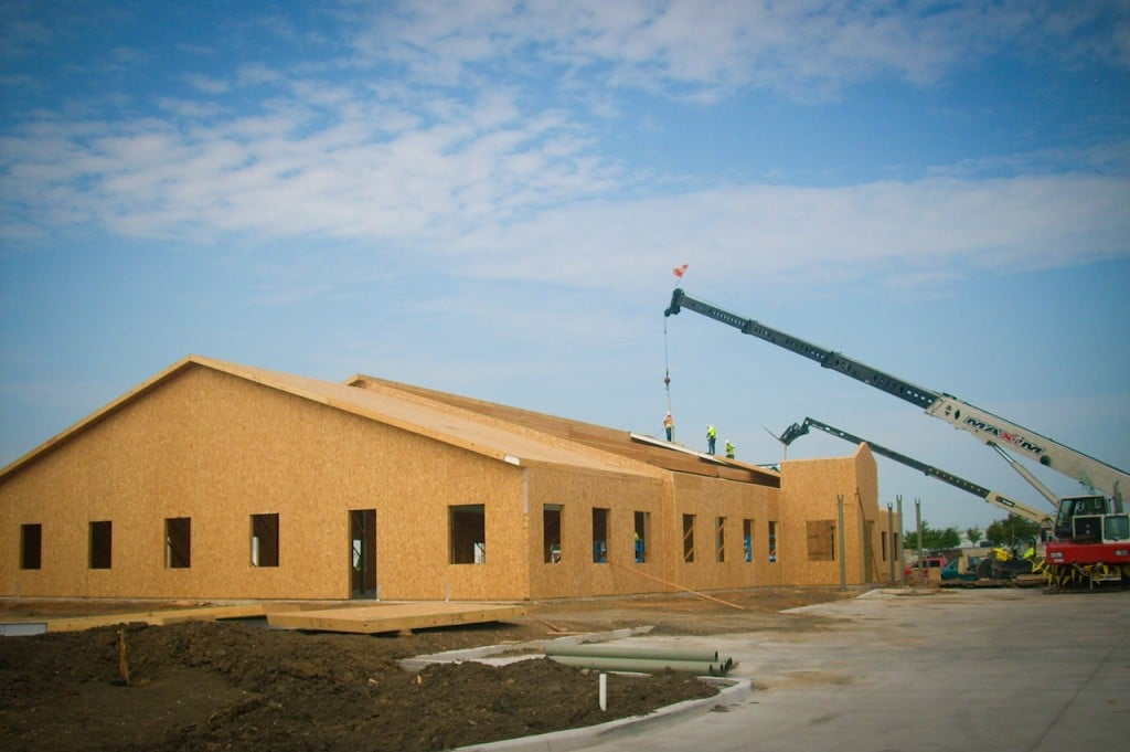 Atmos Energy - Commercial Projects built with Structural Insulated Panels (SIPs) - Korwall Industries