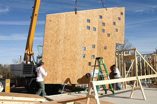 Building Green - Residential and Commercial Projects with Structural Insulated Panels (SIPs) - Korwall Industries